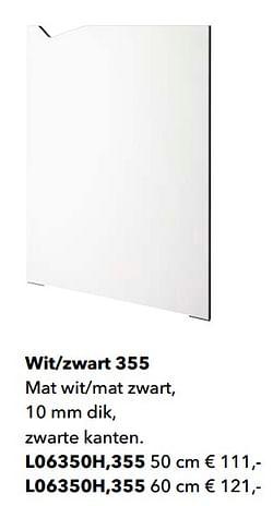 Wit-zwart 355