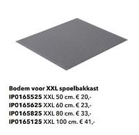 Bodem voor xxl spoelbakkast-Huismerk - Kvik
