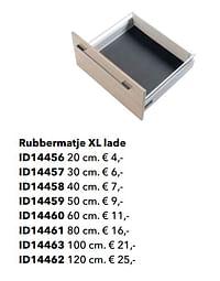 Rubbermatje xl lade-Huismerk - Kvik
