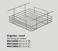 Organize - mand-Huismerk - Kvik