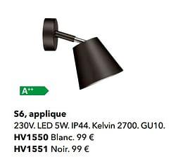 S6, applique
