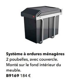 Système à ordures ménagères