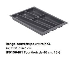 Range-couverts pour tiroir xl