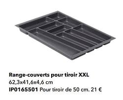 Range-couverts pour tiroir xxl