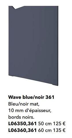 Wave blue-noir 361