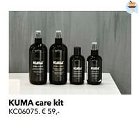 Kuma care kit-Huismerk - Kvik
