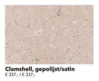 Clamshell, gepolijst-satin-Huismerk - Kvik