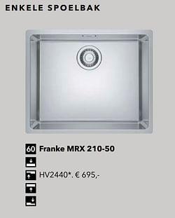Franke mrx 210-50
