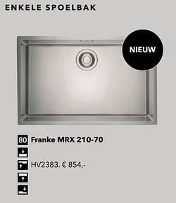 Franke mrx 210-70