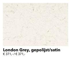 London grey, gepolijst-satin
