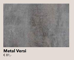Metal versi