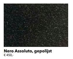 Nero assoluto, gepolijst
