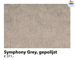Symphony grey, gepolijst