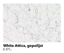 White attica, gepolijst