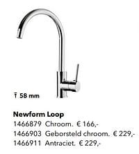 Kranen met c-uitloop newform loop-Newform