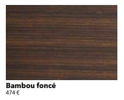Bambou foncé
