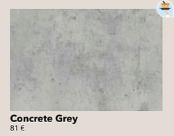 Concrete grey