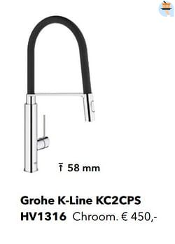 Industriële kranen grohe k-line kc2cps