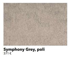 Symphony grey, poli