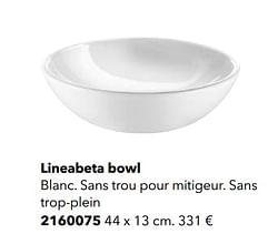Lineabeta bowl