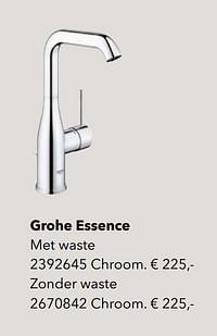 Klassieke kranen grohe essence-Grohe