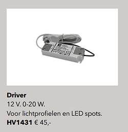 Verlichting driver
