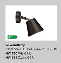 Verlichting s6 wandlamp-Huismerk - Kvik