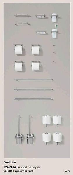 Cool line support de papier toilette supplémentaire