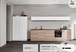 Deur cima light oak - senti