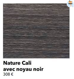 Nature cali avec noyau noir