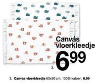 Canvas vloerkleedje-Huismerk - Zeeman