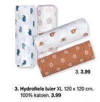 Hydrofiele luier-Huismerk - Zeeman