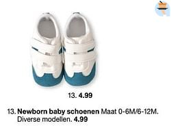 Newborn baby schoenen