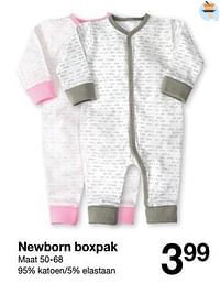 Newborn boxpak-Huismerk - Zeeman