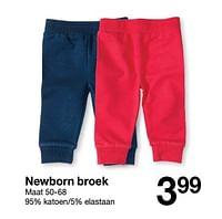 Newborn broek-Huismerk - Zeeman