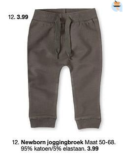 Newborn joggingbroek