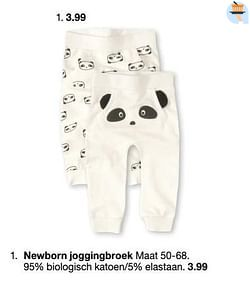 Newborn joggingbroek
