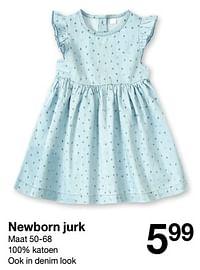 Newborn jurk-Huismerk - Zeeman