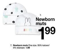 Newborn muts-Huismerk - Zeeman