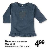 Newborn sweater-Huismerk - Zeeman
