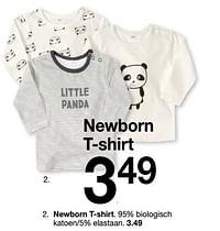 Newborn t-shirt-Huismerk - Zeeman