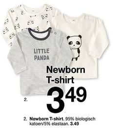 Newborn t-shirt