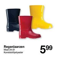 Regenlaarzen-Huismerk - Zeeman