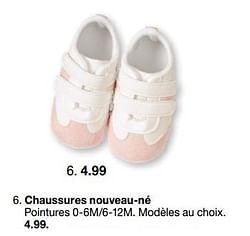 Chaussures nouveau-né