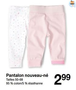 Pantalon nouveau-né