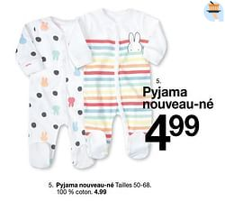 Pyjama nouveau-né