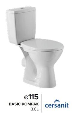 Pack wc et suspendus basic kompak