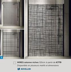 Wires colonne niches
