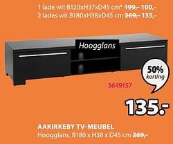 Aakirkeby tv-meubel