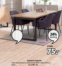 Hadrup stoelen-Huismerk - Jysk